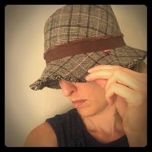 Levi's tweed style hat O/S